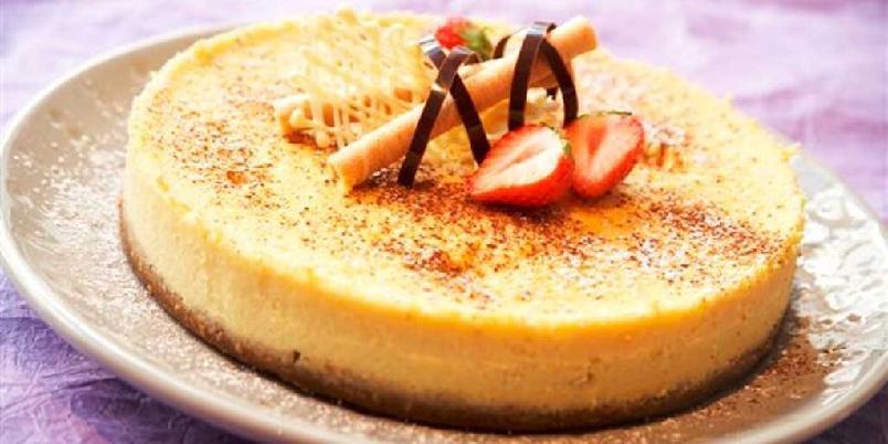 Ostekake med hvit sjokolade - En drøm av en ostekake til den store festen eller en spesiell anledning.