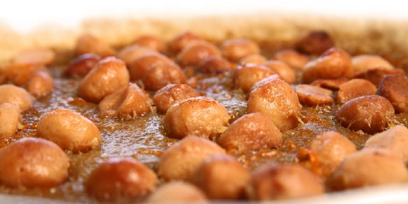 Galette med karamell og Macadamia-nøtter - Kake med karamell og nøtter? Ja, det finnes. Og oppskriften er her!