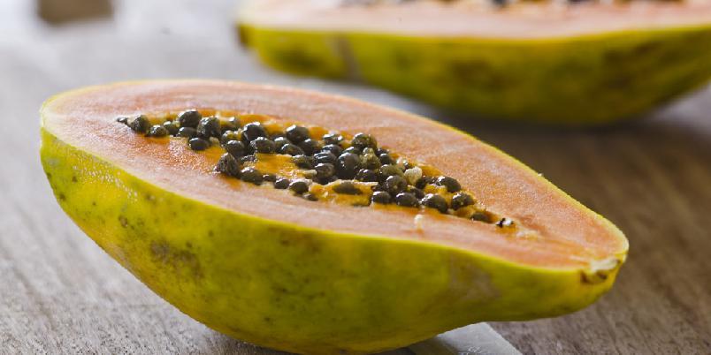 Mango og papayasalsa med koriander - Dette er Bent Stiansens oppskrift. Og det sier ikke så rent lite.