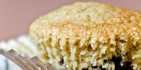 Clotildes blåbærmuffins med kli - Clotilde overrasker igjen med å lage supermuffins med kli og blåbær.
