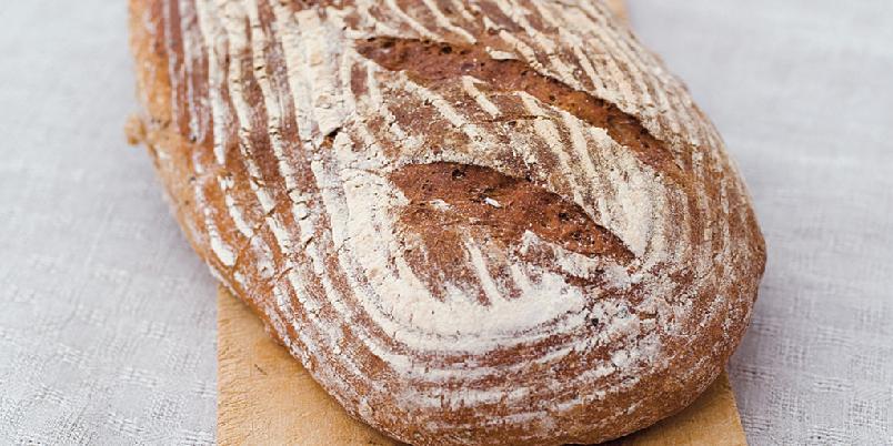 Grovbrød uten elting - Disse brødene er veldig fine å lage for deg som ikke har miksmaster. Du kan røre deigen kjapt sammen for hånd.