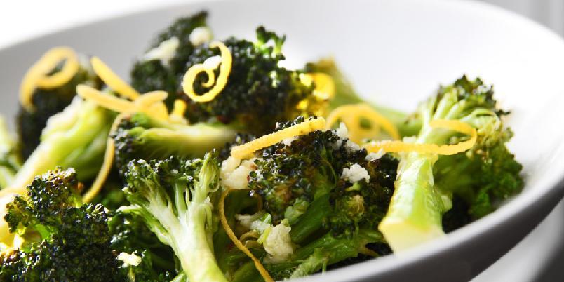 Brokkoli med sitronsmak - Brokkoli kan være mer enn bare sundt. Prøv denne varianten med sitronsmak.