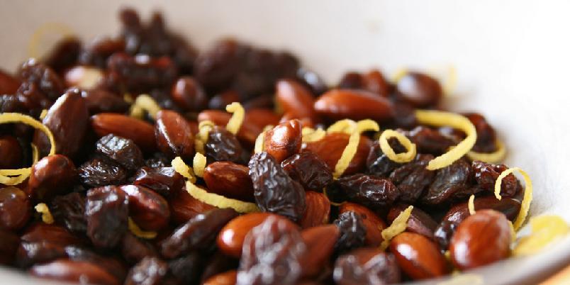 Mandel og rosinsnacks - ADVARSEL: Dette er snacks som er så god at du blir avhengi.