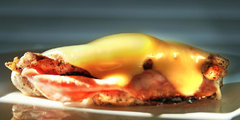 Kylling Cordon Bleu - Dette er den enkle, late varianten av klassikeren.