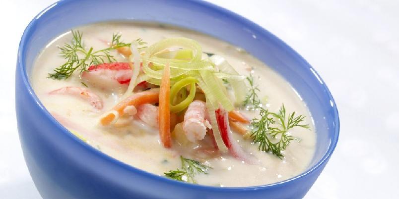 Kjapp og god fiskesuppe - En deilig suppe full av velsmakende og sunne ingredienser.