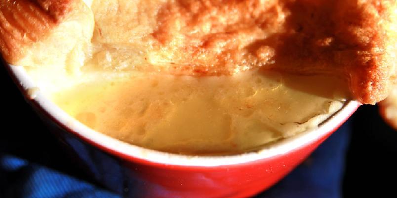 Fiskesuppe med deilig lokk - Dette er en måte å gjøre suppa litt mer spennende...