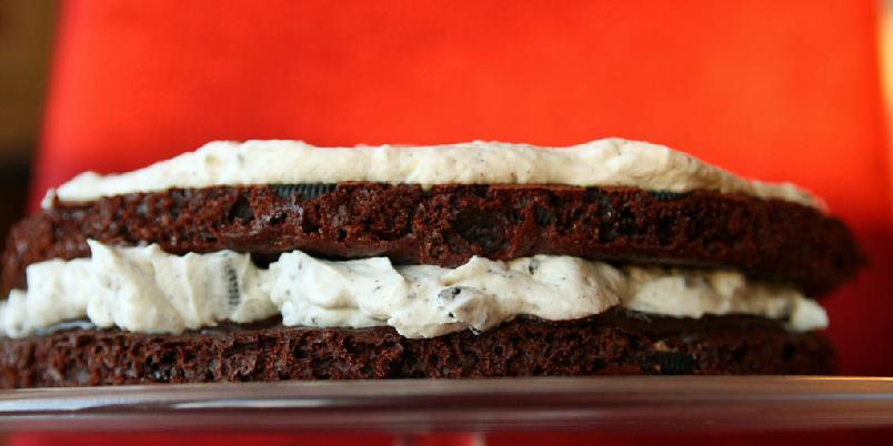 Oreokake - Av kjeks har du kommet, til kake skal du bli.