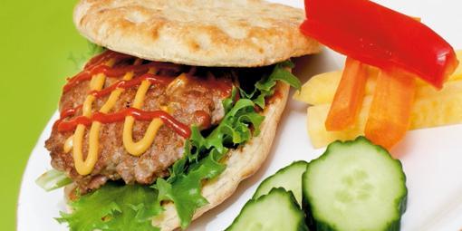 Favorittburger - Dette er skikkelige saker.