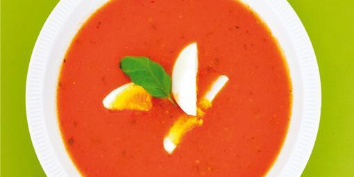 Tomatsuppe - Denne er mye bedre enn posevarianten.