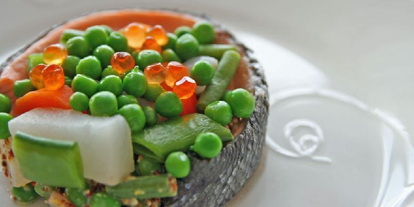 Lekker laks med gode grønnsaker - Her får du vite hvordan laksen blir lekker. Og god...