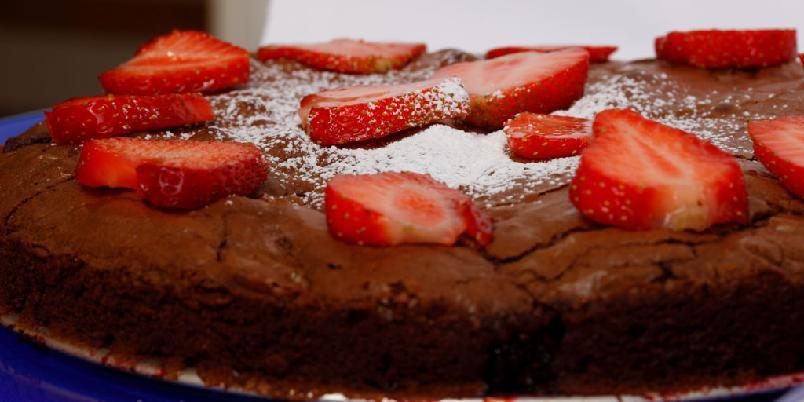 Bringebær-brownie - Brownies er alltid en vinner!