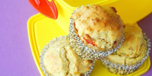 Matmuffins - Putt muffins i matboksen!