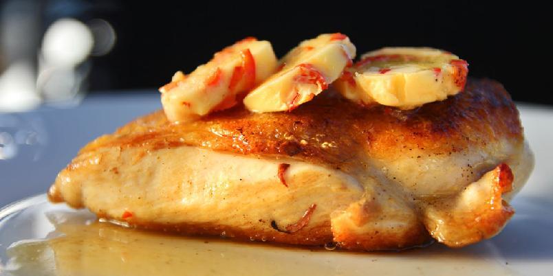 Kylling med chilismør - Chilismør kan du bruke til kylling.