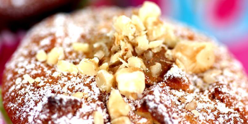 Cupcake med eple - Cupcakes fulle av deilige eplebiter er toppen av lykke!