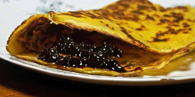 Gulrotpannekaker - Pannekaker blir godt med gulrøtter. Utrolig, men sant...