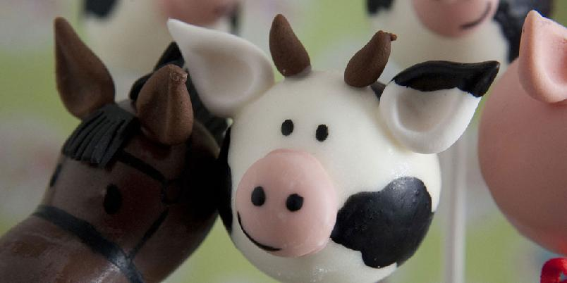 Popcakes - Ja, popcakes kan også bli grisete... Eller si mø eller vrinsk.