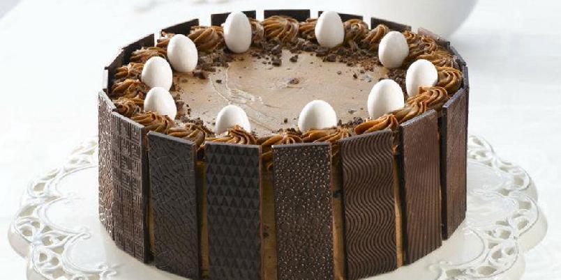 Dronningens smil - Denne sjokoladekaken får deg til å smile.