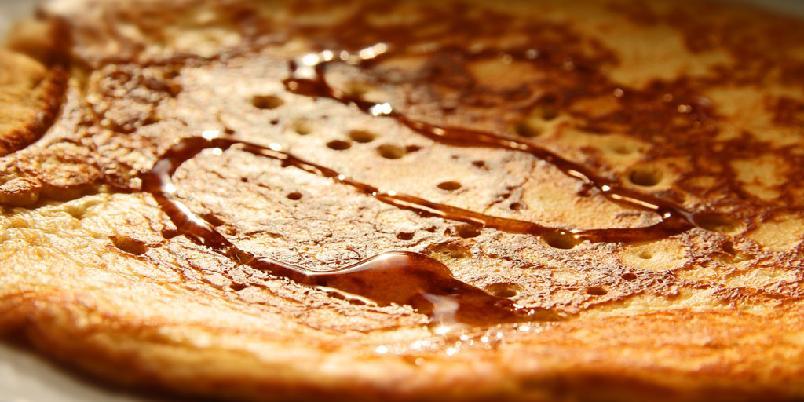 Pannekaker med peanøttsmør - Pannekaker med peanøtter? Jepp!