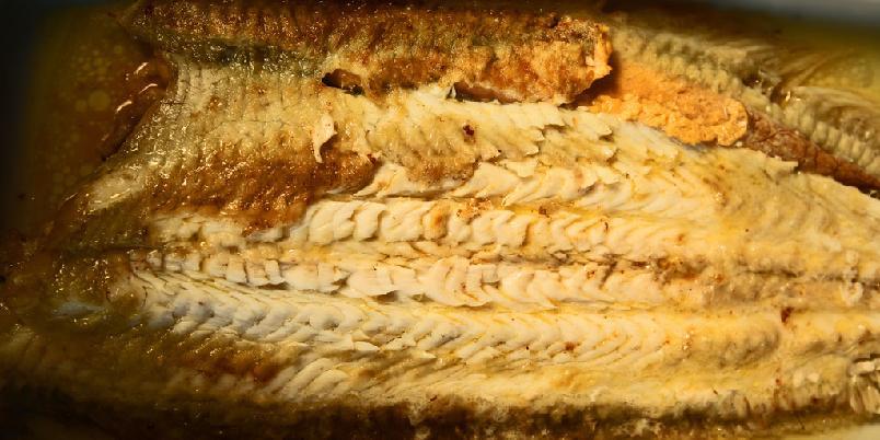 Sjøtunge - Smørflyndre (sjøtunge) på klassisk vis. Denne kalles sole a la meuniere i Frankrike.