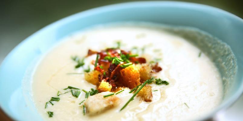 Blomkålsuppe - Blomkålsuppe har aldri vært bedre...