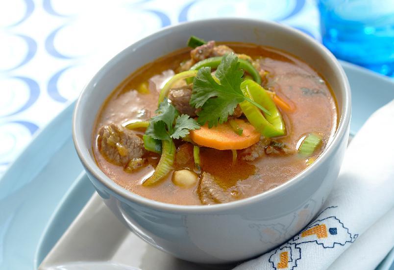 Het gryte - Suppe kan være uhyre raskt å tilberede. Har du et kvarter til rådighet, kan du lage deg en varmende, mettende og velsmakende suppe til en slunken lommebok.