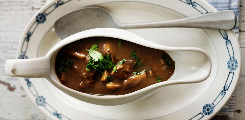 Soppsaus - Denne sausen passer perfekt i høst.