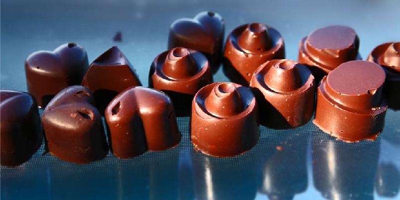 Sjokoladekonfekt - Ja, du kan lage din egen konfekt...