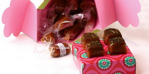 Karameller med lime og lakris - Den klassiske karamellen med en spennende, smakfull vri.