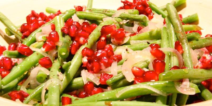 Salat med grønne bønner - Denne enkle salaten passer gjør hverdagsmaten litt bedre.