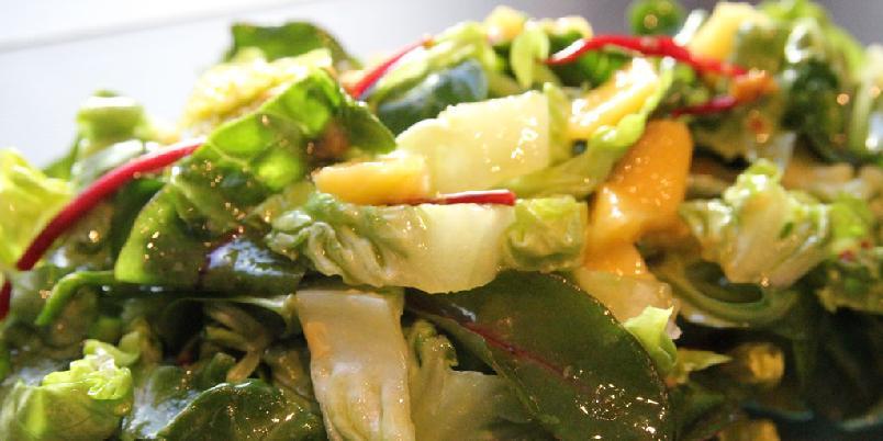 Enkel salat - Dette er en enkel salat. Om du egentlig ikke vil lage en salat, ja, så er dette den enkle salaten for deg.