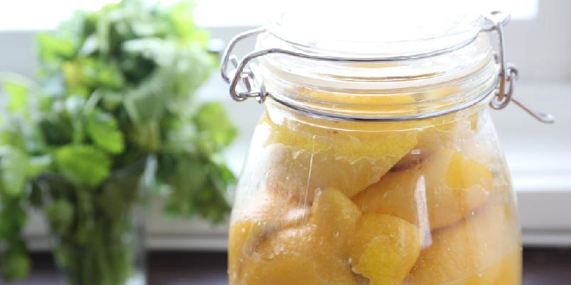 Syltede sitroner - Dette er oppskriften på syltede sitroner. Det er helt sentrale i det marokkanske kjøkkenet.