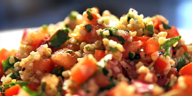 Tabbouleh - Tabbouleh er salaten som spises mest i Levanten. Prøv den da vel!
