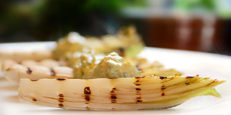 Grillet salat - Når kokkene på El Bulli lagde salat gjorde de det på denne måten.