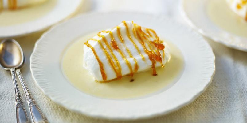 île flottante - Her er oppskriften på den klassiske desserten.