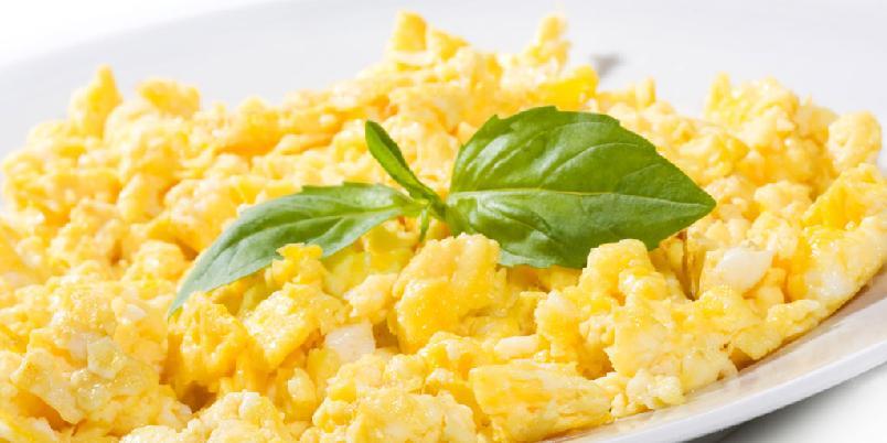 Perfekt eggerøre - Stek maks ti egg om gangen.