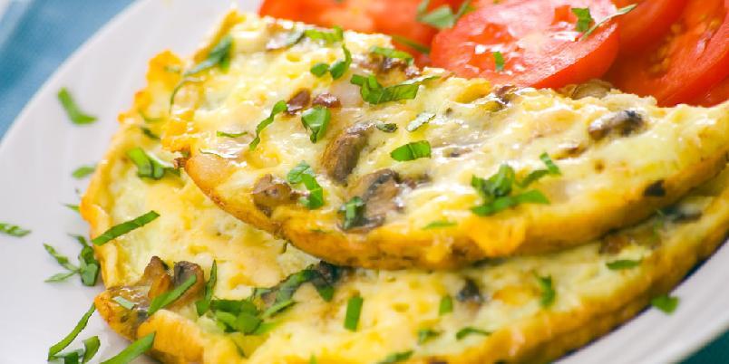 Ett-minutts-omelett - Dette er den kjappeste måten å lage en omelett.