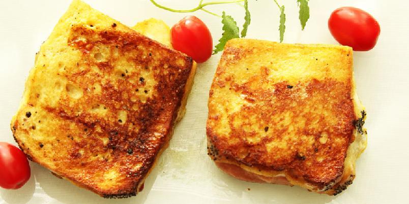 Pandorato - Pandorato er en kul italiensk sandwich du steker i panna. Prøv en da vel!
