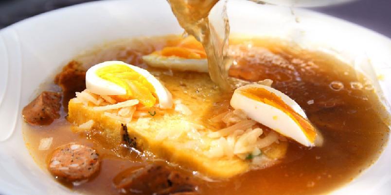 Italiensk brødsuppe - Italiensk mat? Ja, denne suppa er autentisk.