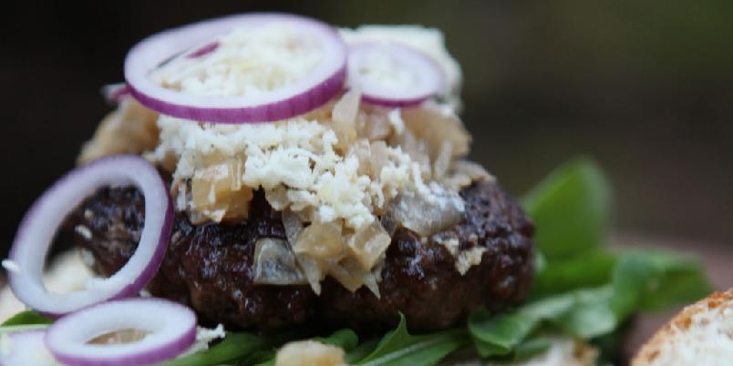 Hamburger - Sjekk denne burgeren! Det er din nye favoritt...