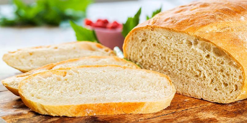 Superenkelt brød - Du trenger bare noen få ingredienser for å bake dette supergode brødet.