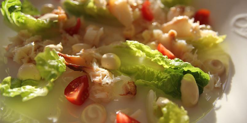 Krabbe på tallerken - Krabbe blir godt sammen med noen få ingredienser. Her er de.
