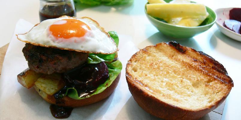 Australsk hamburger - Australske hamburgere er ikke som andre hamburgere.