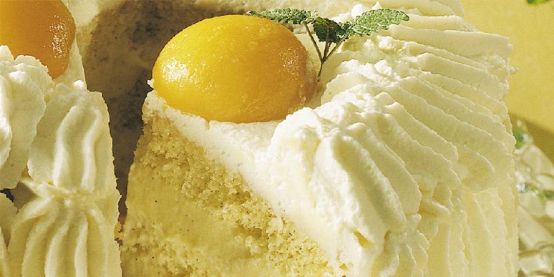 Eggekrem med gelatin (til kaker) -