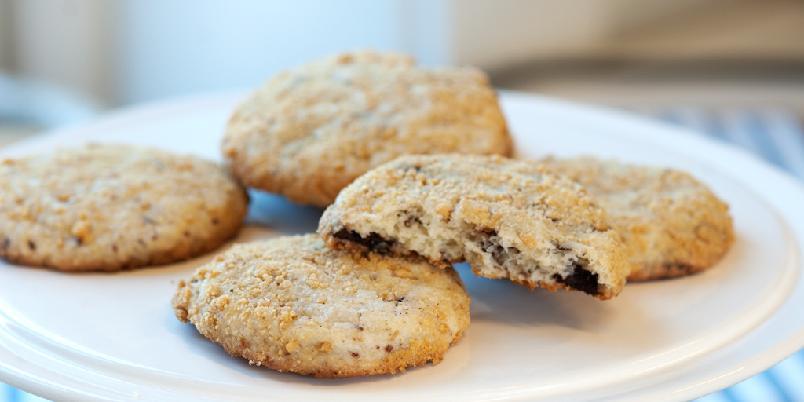 Sjokoladecookies med kremost  - Det blir cookies du kan glede deg til!