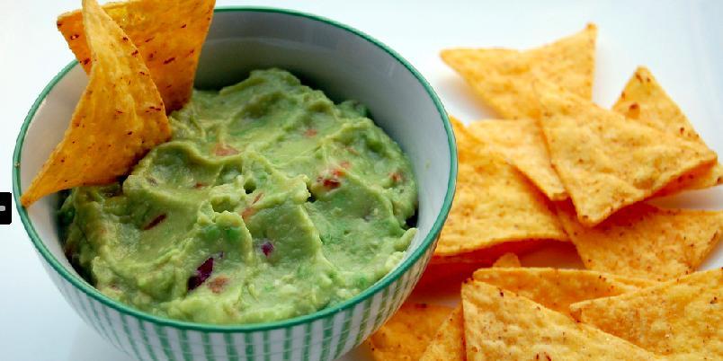 Avokadodipp - En herlig smak av avokado. Finn frem chipsposen!