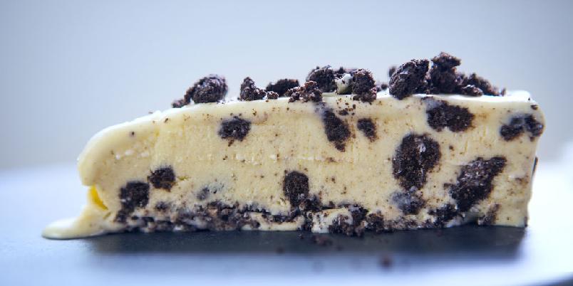 Mandas Oreoiskake - Denne kaken er like kald som den er enkel og god.