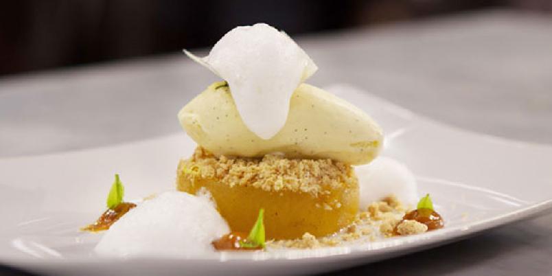 New Style eplekake alà Marie - Dette er Maries eplekake! Oppskriften er hentet fra TV-serien Dessertmesterne.