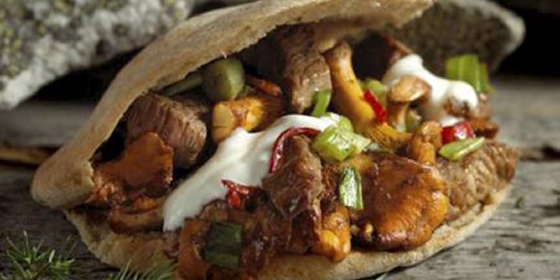 Skog kebab - En herlig og lettere kabab-variant du kan nyte både ute og inne. En herlig smakskombinasjon du sent vil glemme.