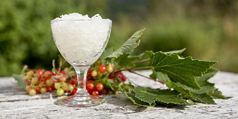 Saft av blader fra bærbusker - Du kan lage gode drikker av bladene fra bærbuskene.