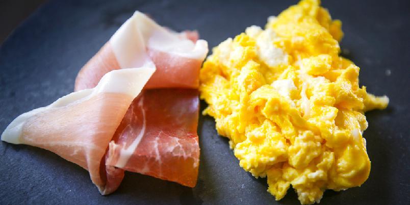 Eggerøre med ricotta - Dette er trikset som gjør eggerøre supert.